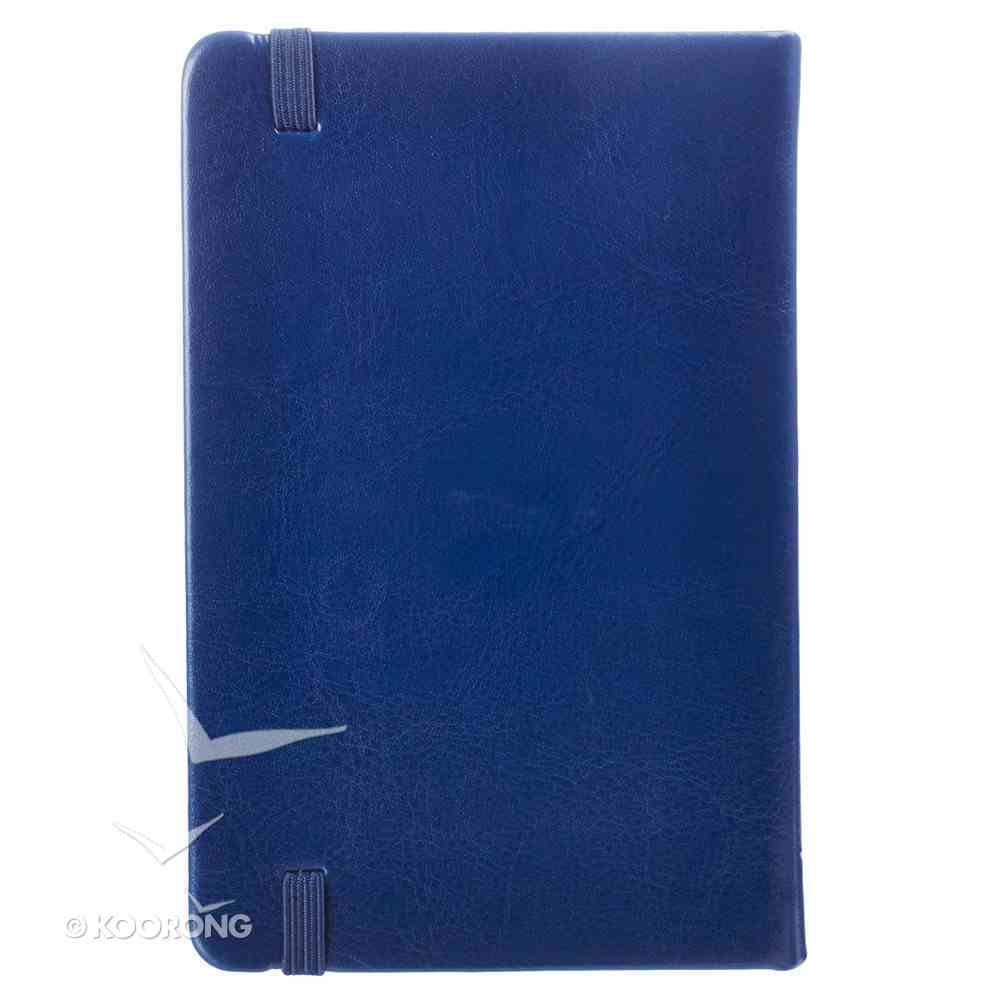 Notebook: I Know the Plans With Elastic Band Closture Navy Imitation Leather Over Hardback