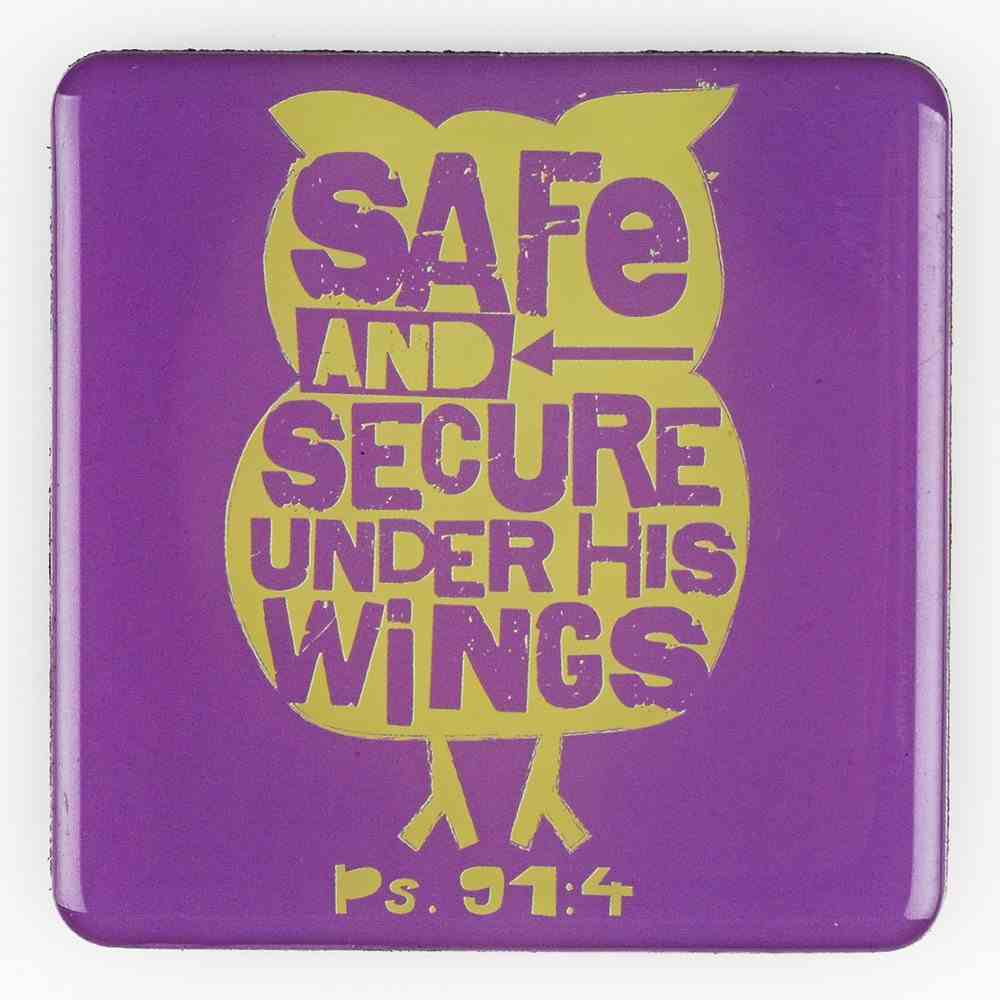 Meaningful Magnet: Safe and Secure Under His Wings Novelty