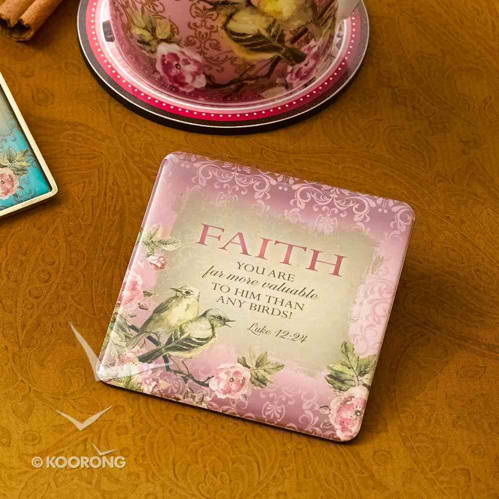 Meaningful Magnet: Faith - You Are Far More Valuable.... Novelty