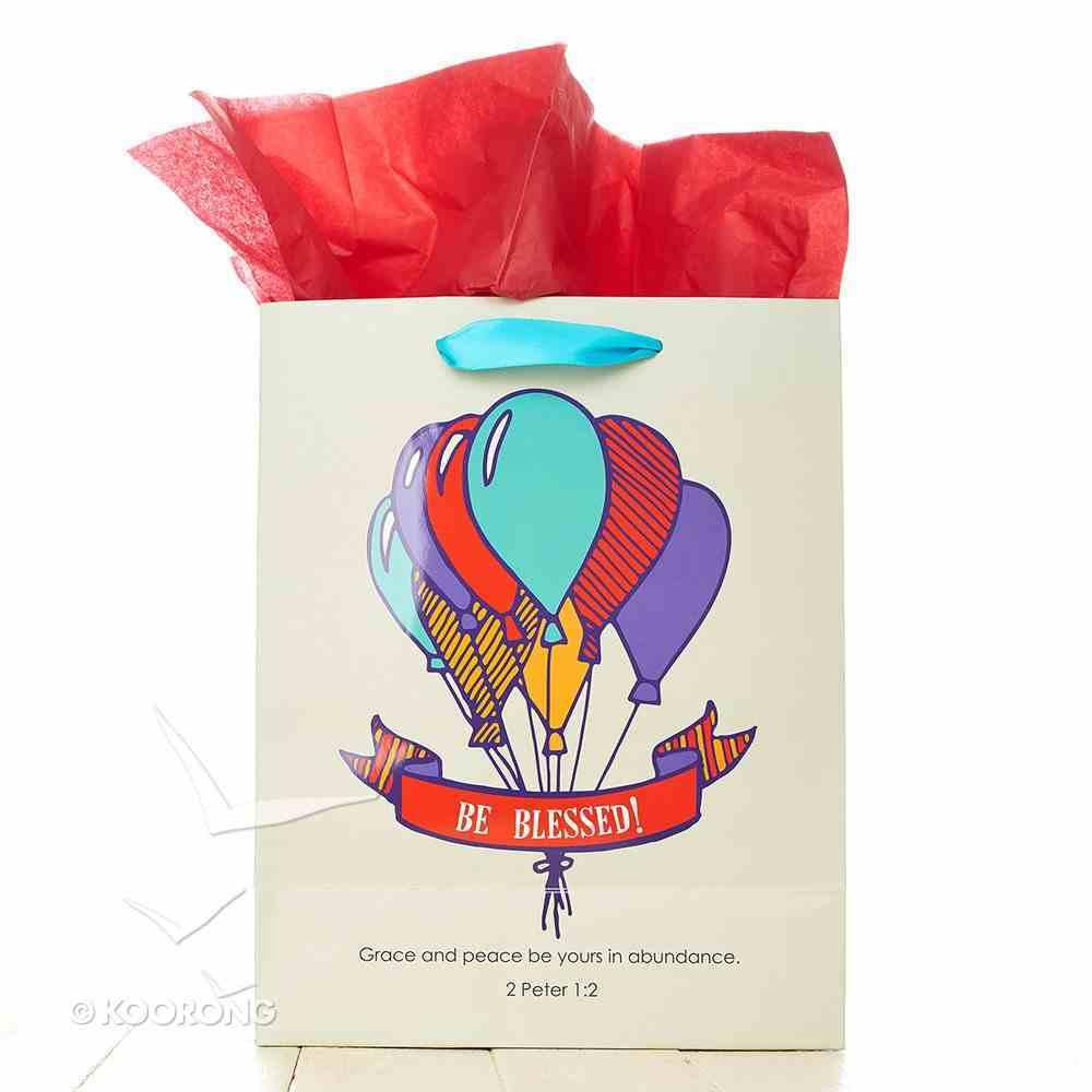 Gift Bag Medium: Happy Birthday (Balloons) Stationery