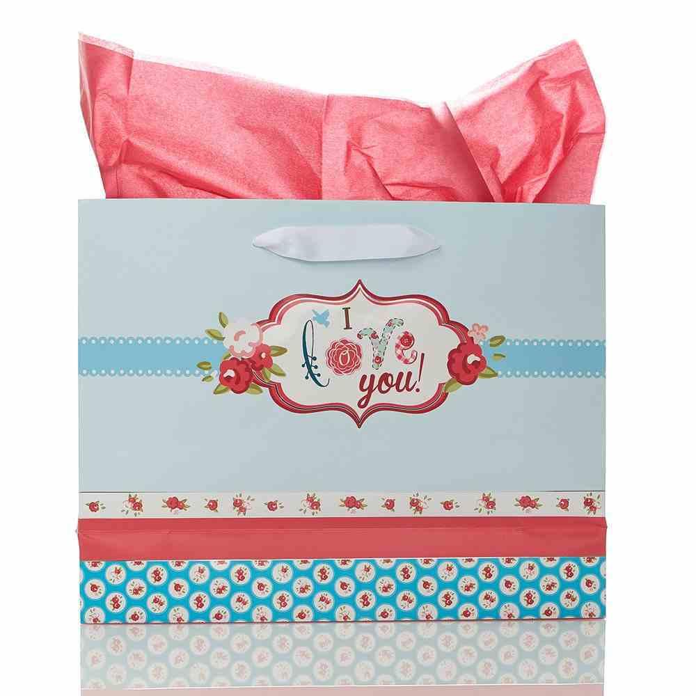 Gift Bag Large Landscape: Mom, You're the Best! Stationery