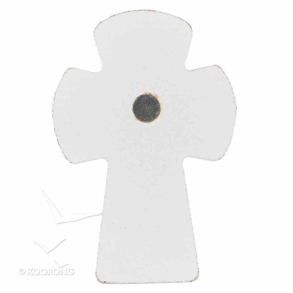 Small Cross Magnet: Hope in the Lord (Psalm 31:24) Novelty