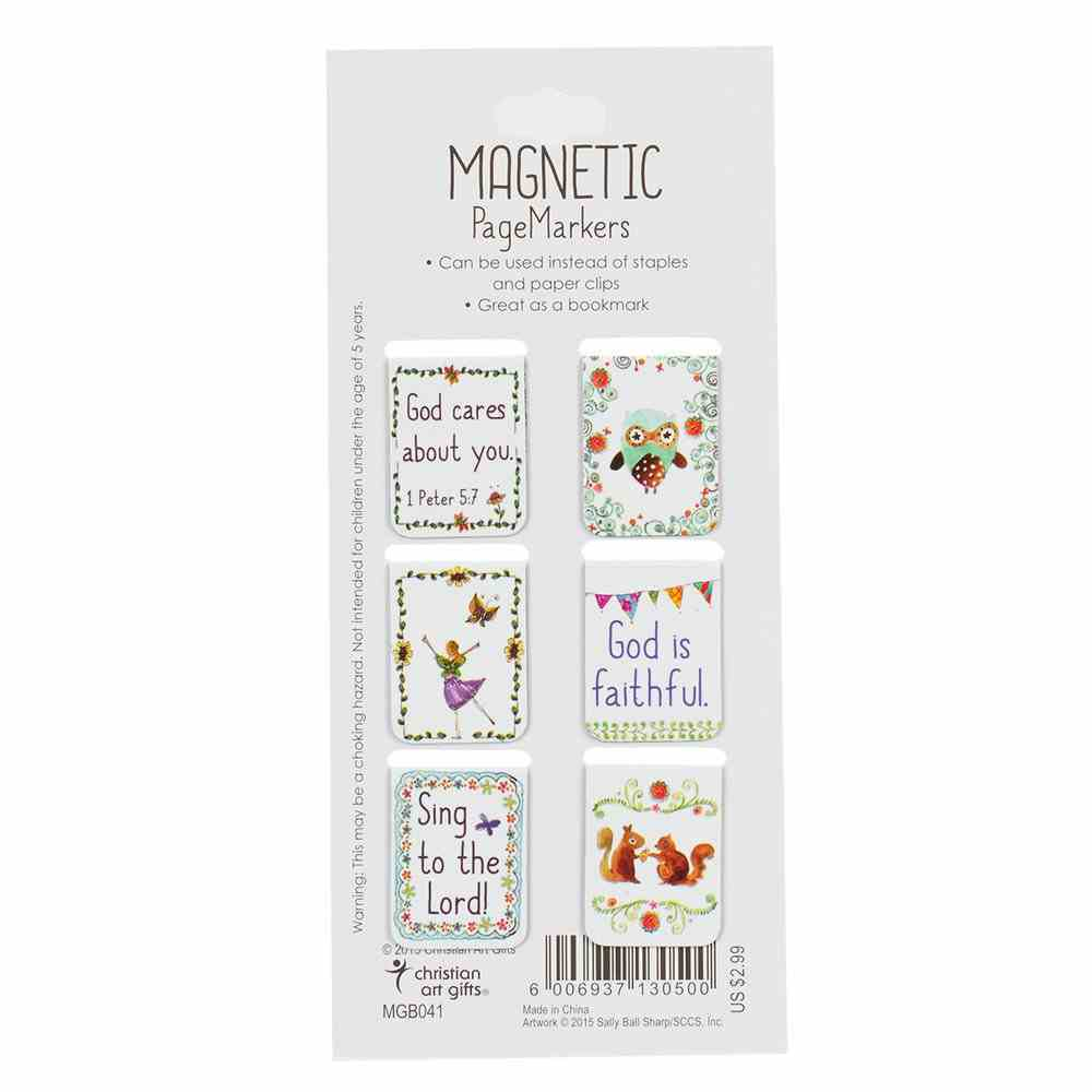 Bookmark Magnetic: God Makes All Things Possible (Set Of 6) Stationery