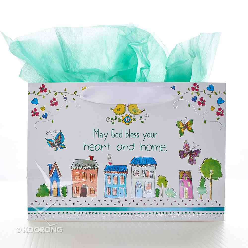 Gift Bag Small Landscape: May Your Day Be Blessed! Stationery