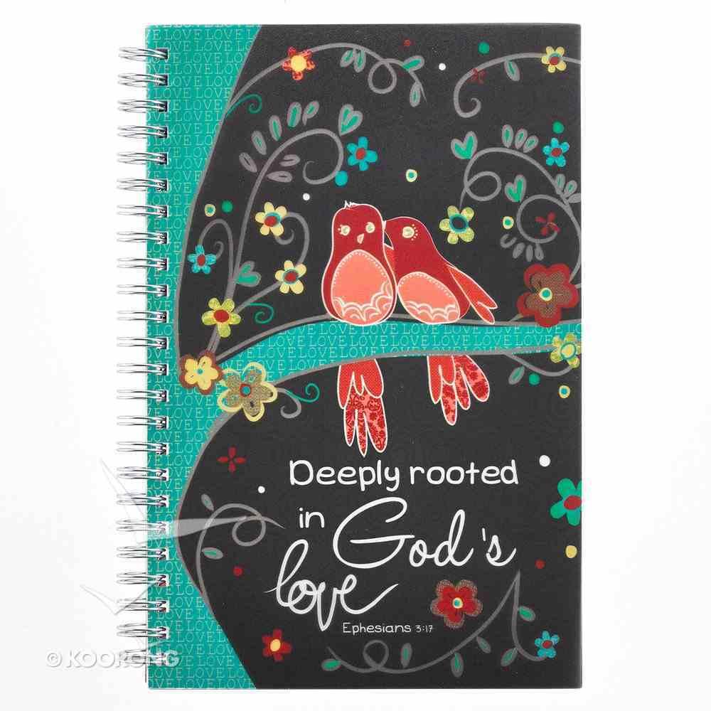 Notebook: God's Love, Birds Spiral