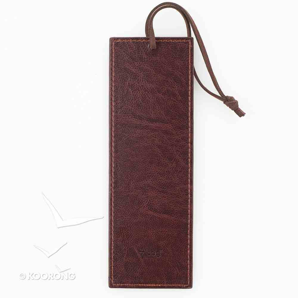 Bookmark Luxleather Tassel: For I Know the Plans I Have For You Red Stationery