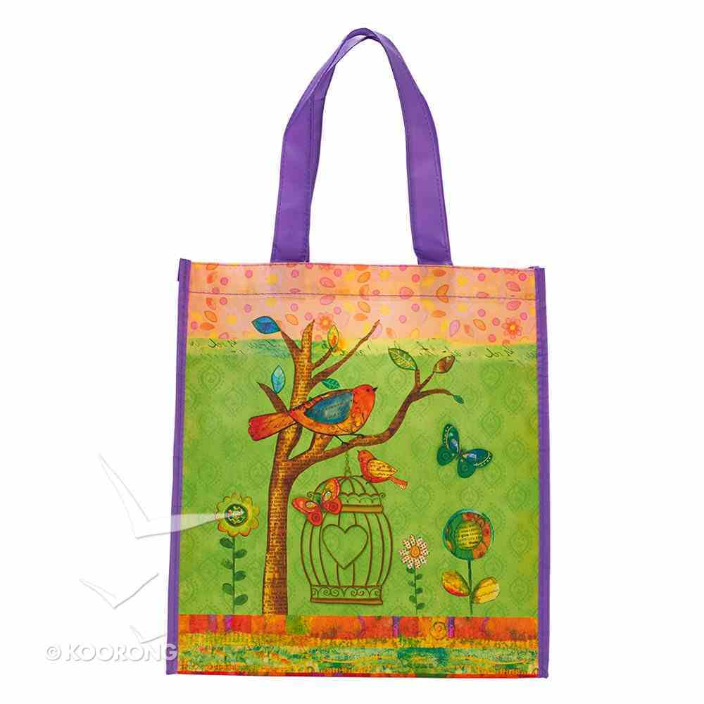 Non-Woven Tote Bag: May Your Day Be Blessed Soft Goods
