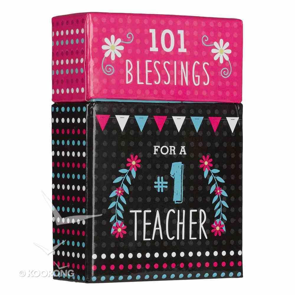 Box of Blessings: 101 Blessings For a #1 Teacher Stationery