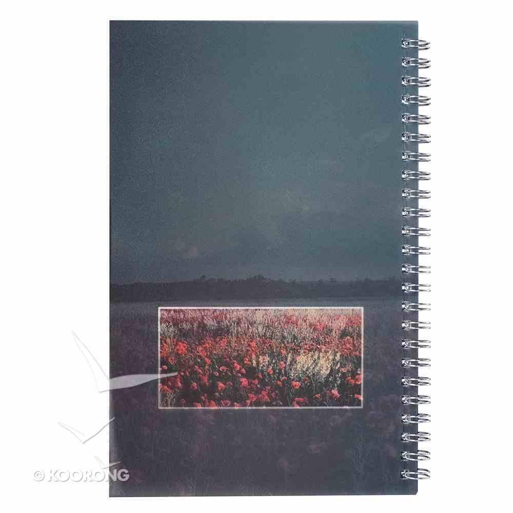Notebook: My Prayer Notes, Wildflowers Spiral