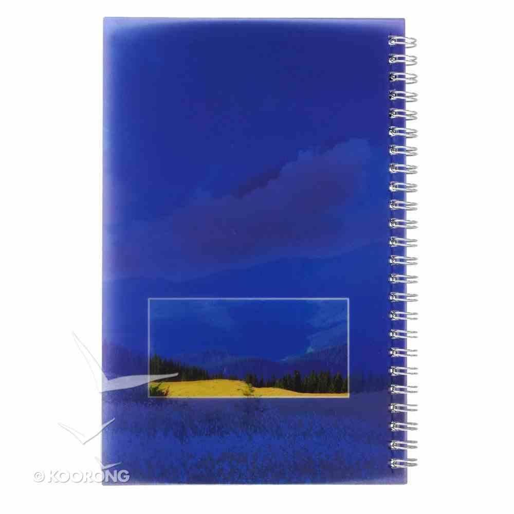 Notebook: My Sermon Notes, Mountain Landscape Spiral