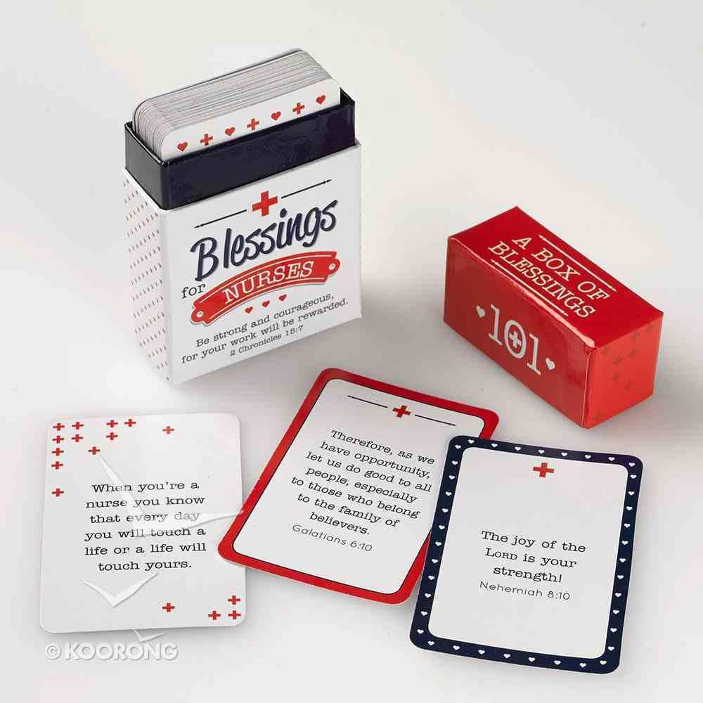 Box of Blessings: 101 Blessings For Nurses (2 Chron 15 7) Stationery