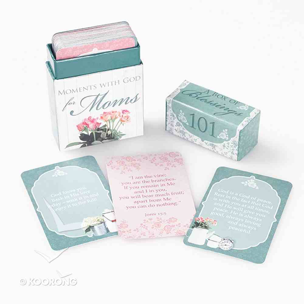 Box of Blessings: 101 Moments With God For Moms Stationery