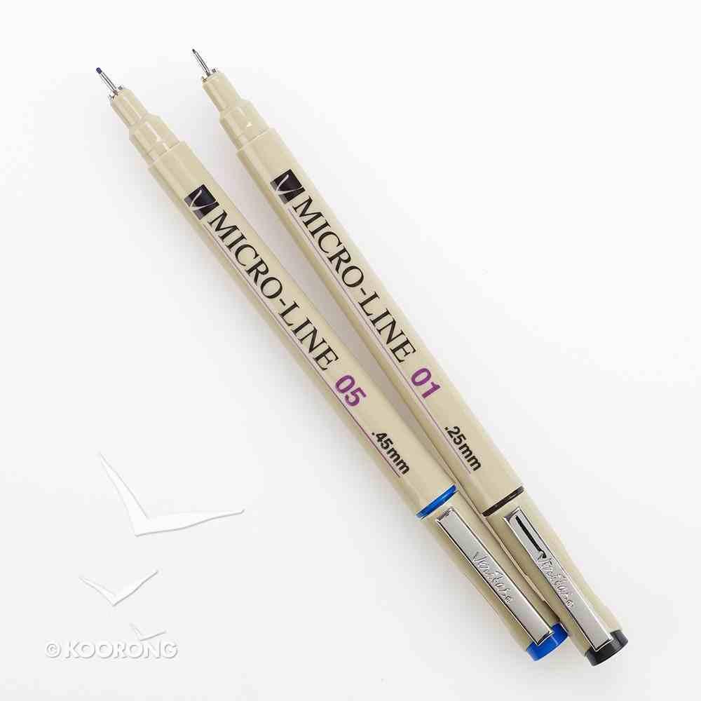 Veritas Micro-Line Color Pens Set of 8 Stationery
