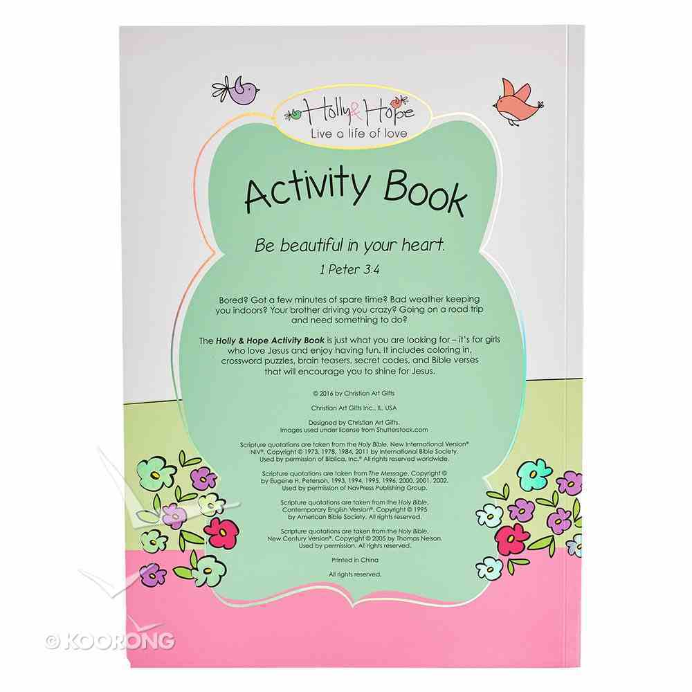 Activity Book Holly & Hope (Holly & Hope Series) Paperback