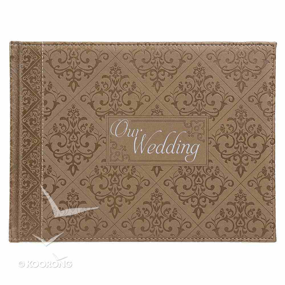Guest Book: Our Wedding Luxleather Stationery