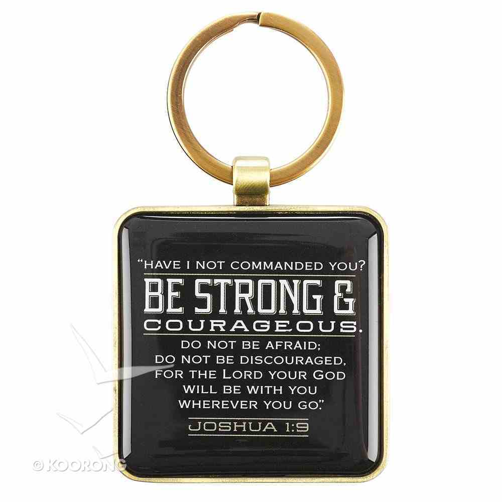 Keyring in Tin: Strong & Courageous Jewellery