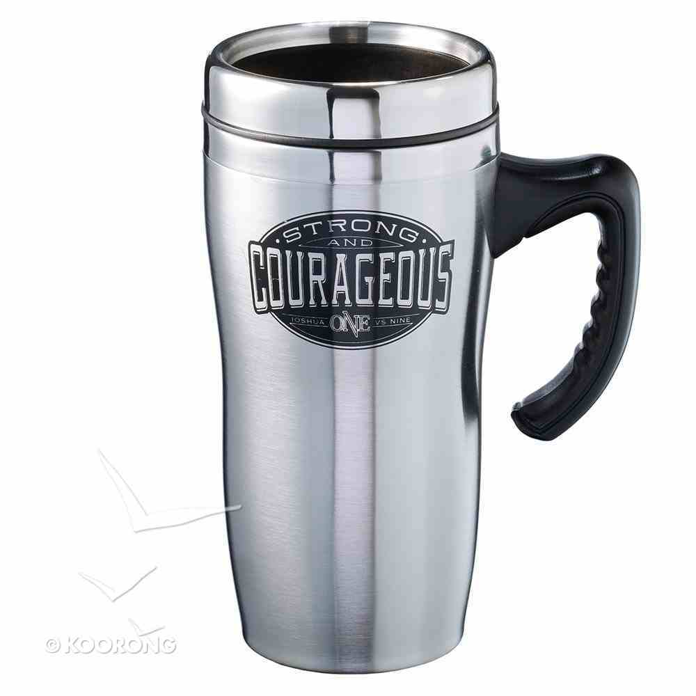 Stainless Steel Travel Mug: Strong & Courageous Homeware