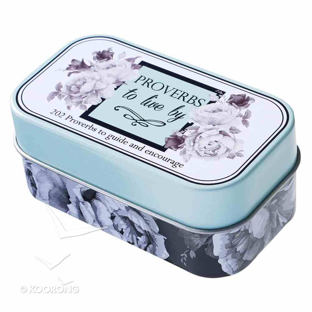 Botanical Tin Cards: Proverbs to Live By Box