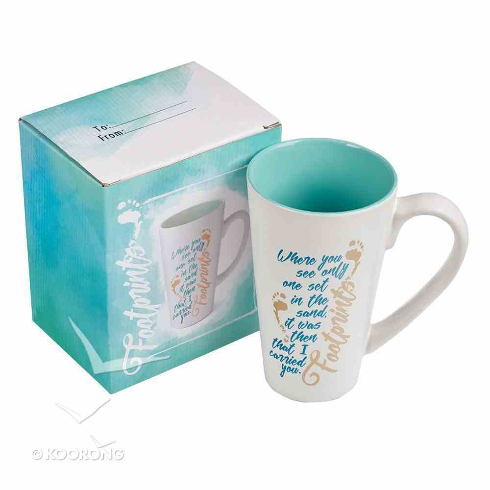 Ceramic Mug: Footprints Homeware
