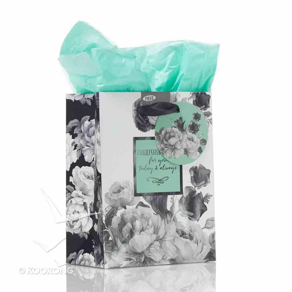 Gift Bag Small: Botanical Range, Cherished Wishes (Inc Tissue Paper & Gift Tag) Stationery