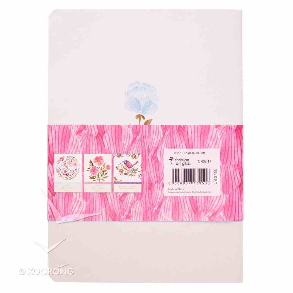 Notebook: Pink Birds/Anchor/Flower (Set Of 3) Paperback