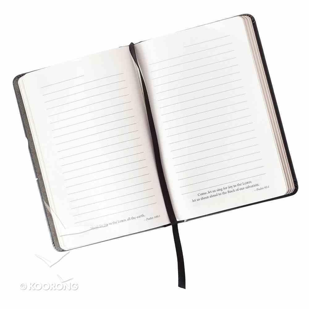 Notebook Journal: Blessed, Black/White Hardback