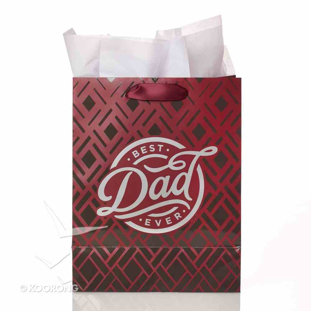 Gift Bag Medium: Best Dad Ever Stationery