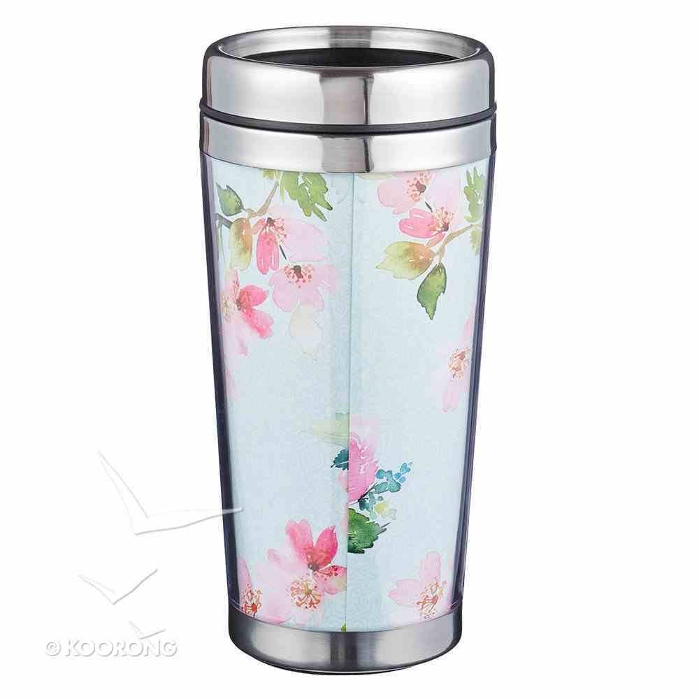 Polymer Mug With Design Insert: Hope and a Future, Stainless Steel Lid Homeware