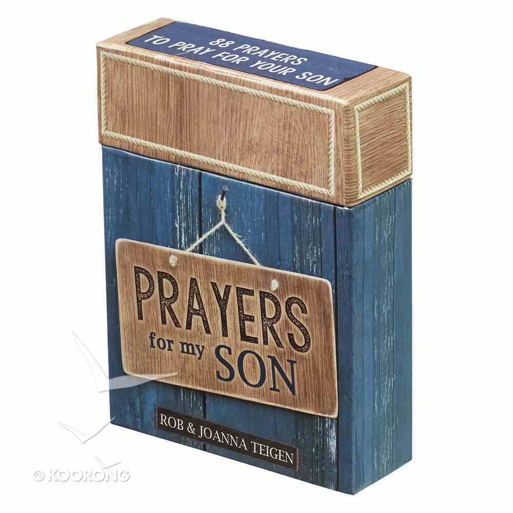 Box of Blessings: Prayers For My Son Box