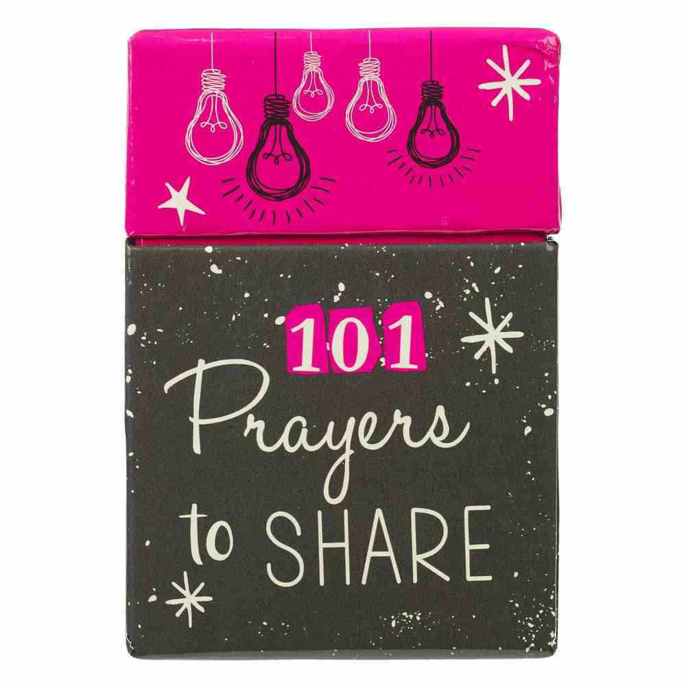 Boxes of Blessings: 101 Prayers to Share (Faith Girl Collection) Box