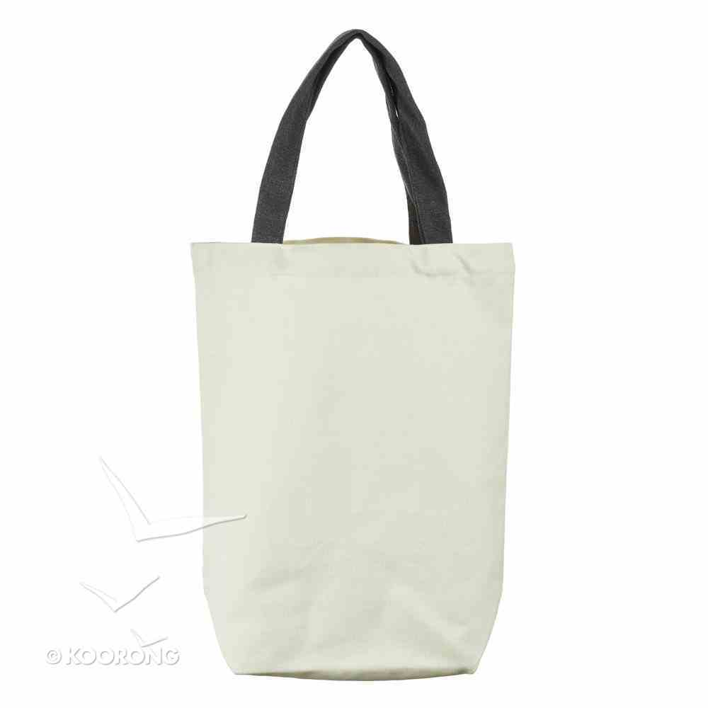 Canvas Tote Bag: Teaching is a Work of Heart, Cream/Red Apple/Black Handles (Teaching Is A Work Of Heart Series) Soft Goods
