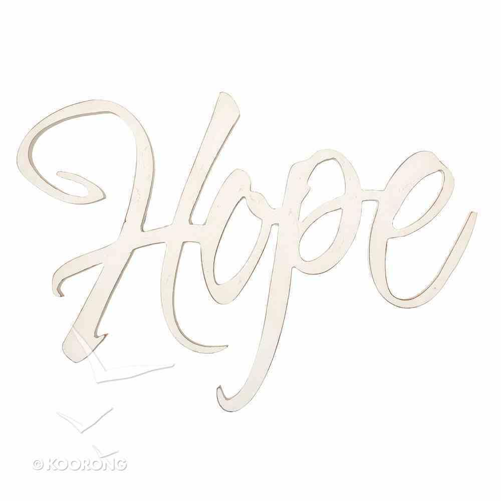 Wall Art: Hope Plaque