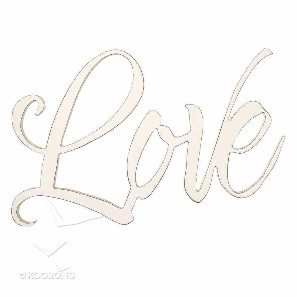 Wall Art: Love Plaque