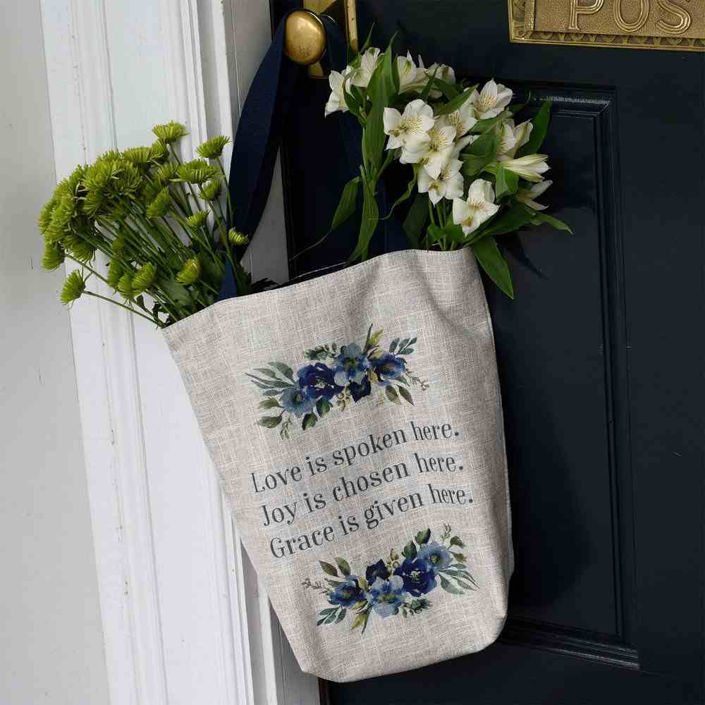 Canvas Tote Bag: Love Joy Grace (Love Joy Grace Collection) Soft Goods