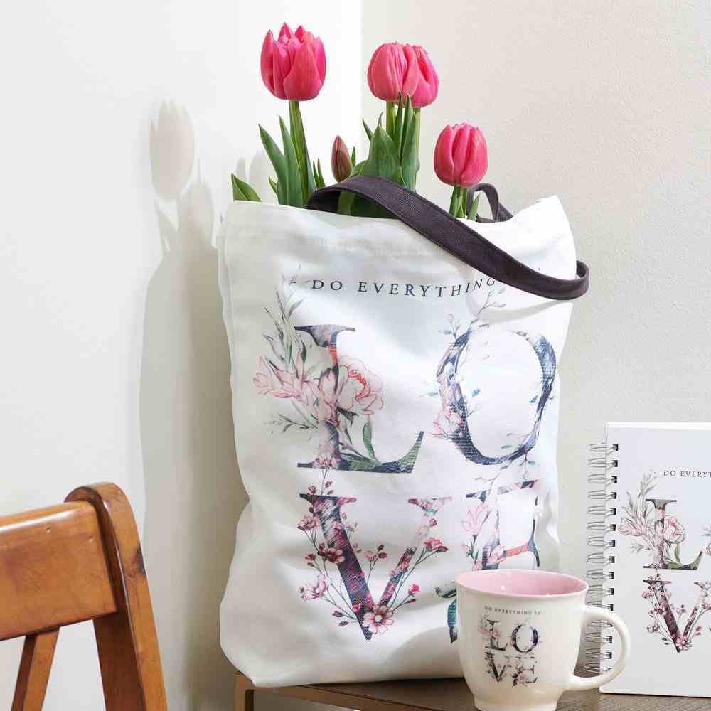 Canvas Tote Bag: Everything in Love (Do Everything In Love Series) Soft Goods