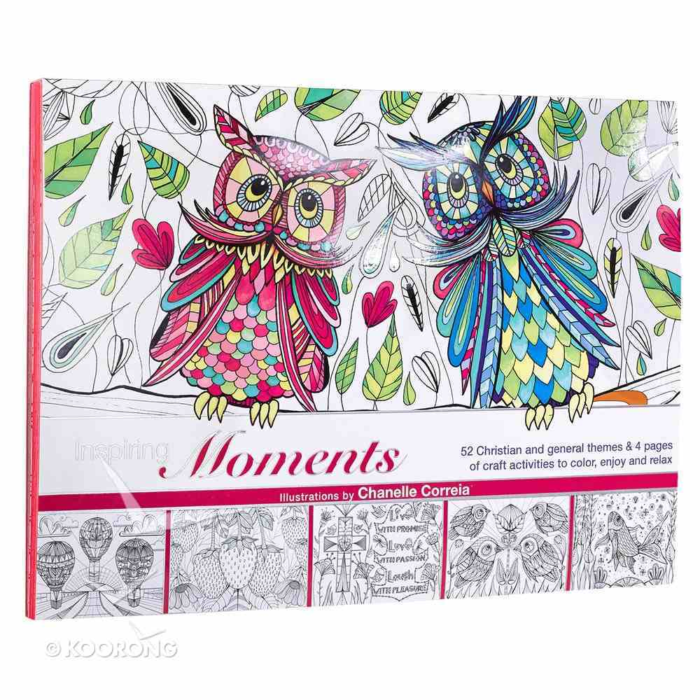 Inspiring Moments - Coloring & Craft (Adult Coloring Books Series) Paperback