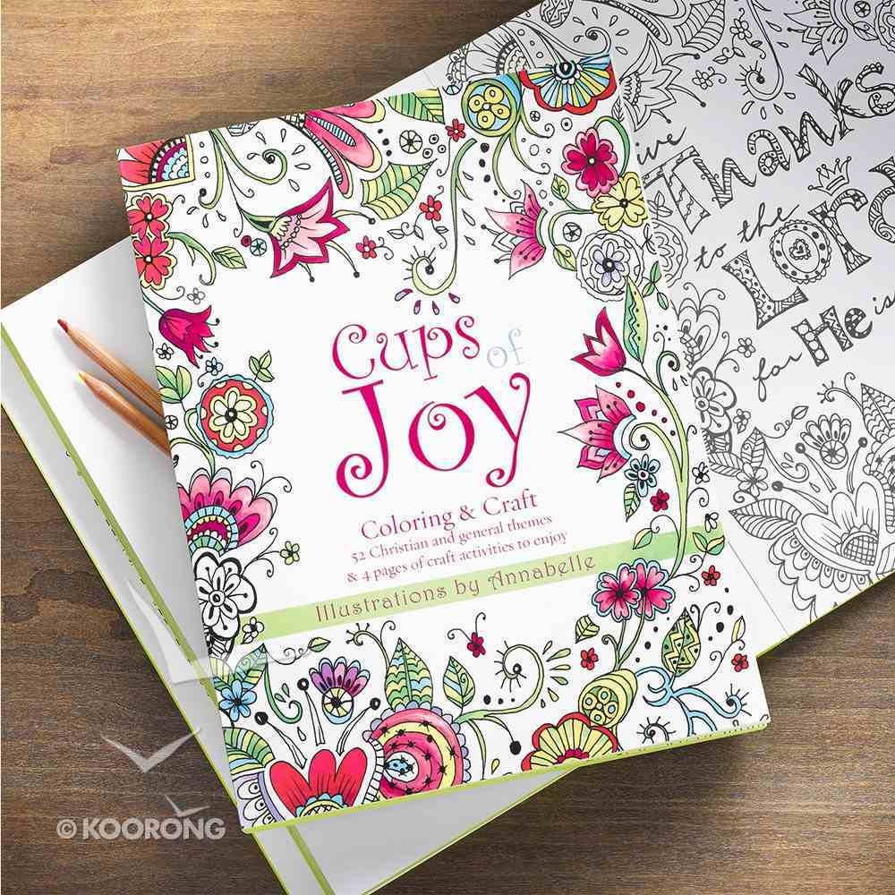 Cups of Joy - Coloring & Craft (Adult Coloring Books Series) Paperback