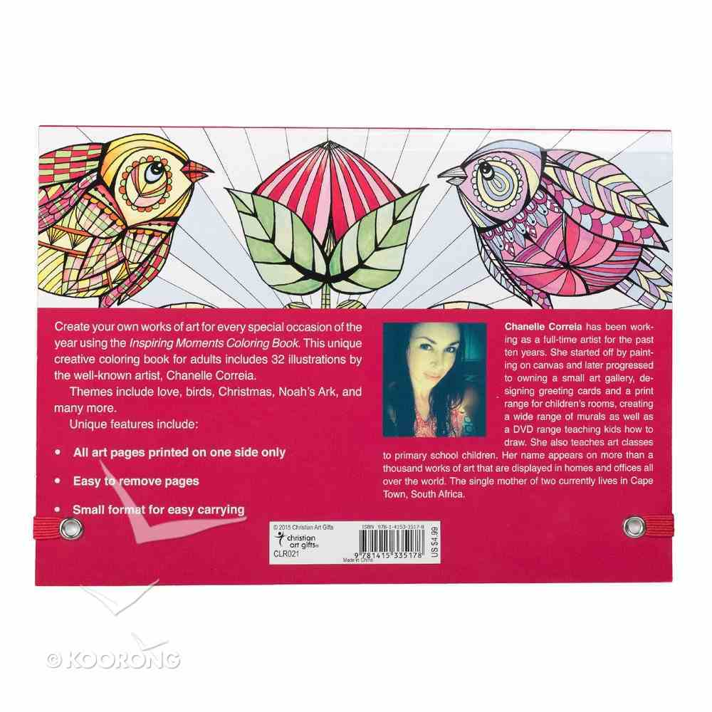 Acb: Inspiring Moments Pocket Coloring Book Paperback