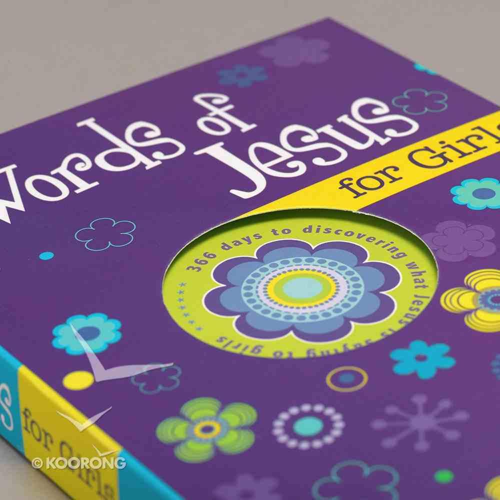 Words of Jesus For Girls Paperback