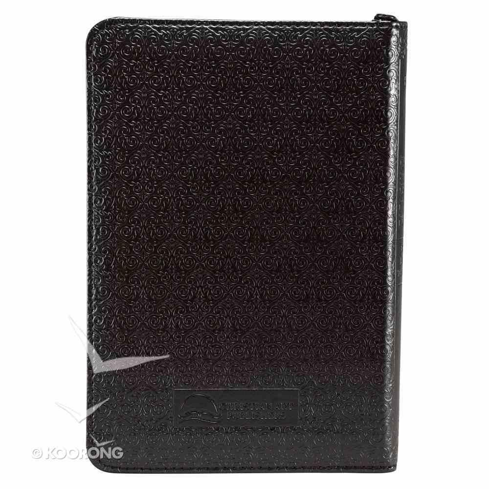 KJV Mini Pocket Edition Zippered Black (Red Letter Edition) Imitation Leather