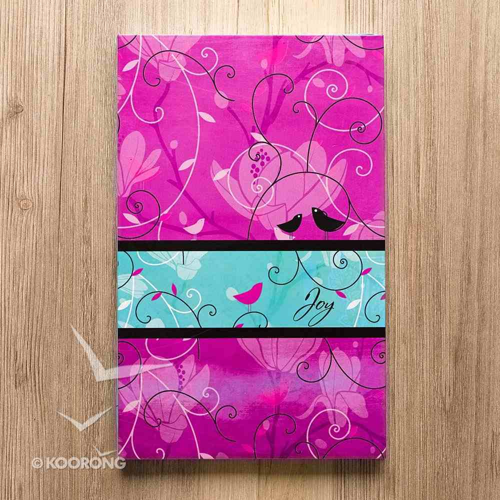 Journal: Flexcover Joy Pink/Aqua Paperback