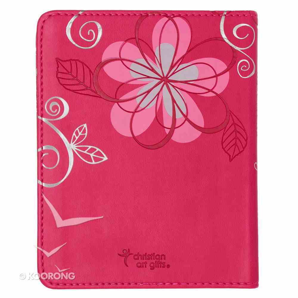 One Minute Devotions: For Girls Pink Luxleather Imitation Leather