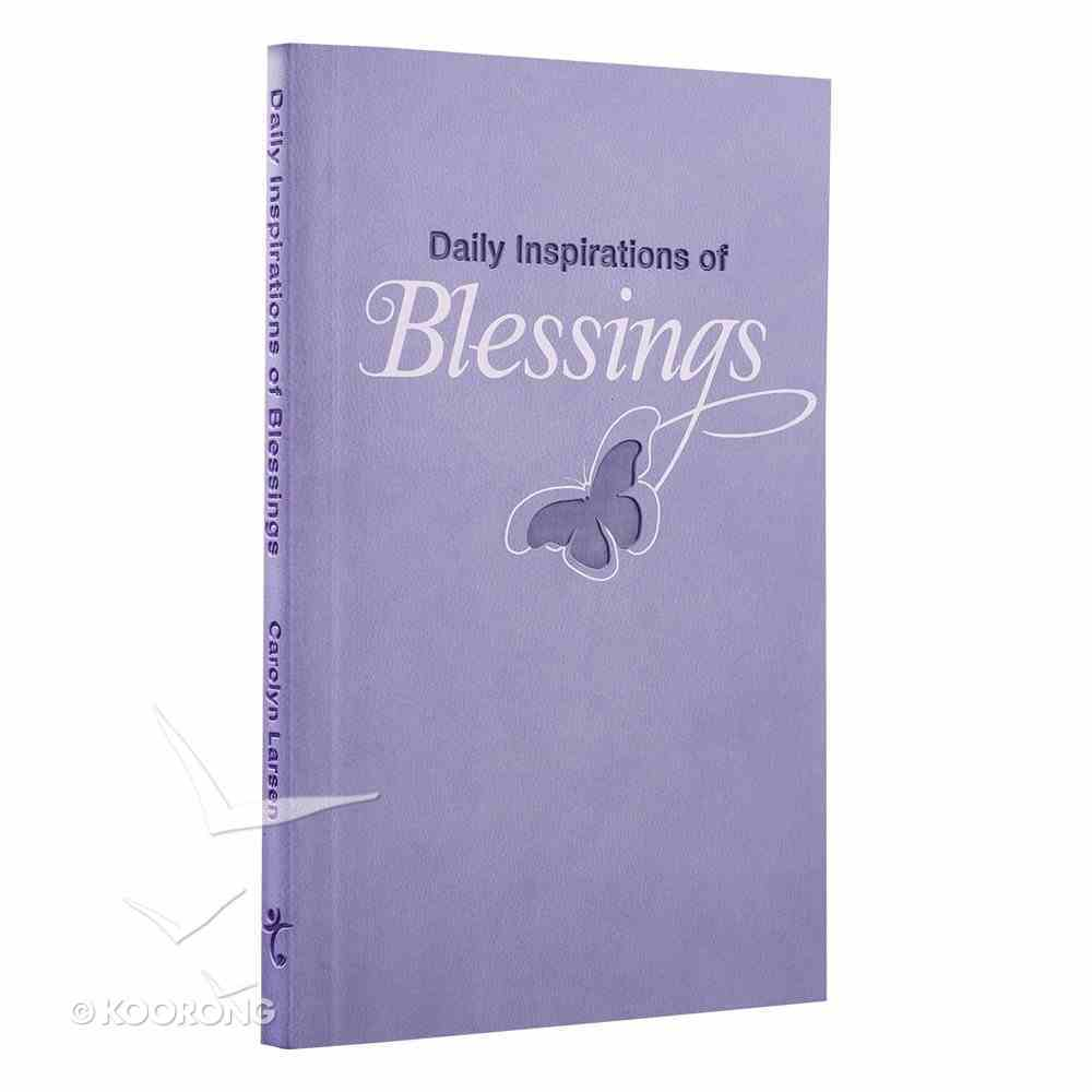 Blessings (Purple Luxleather) (Daily Inspirations Series) Imitation Leather