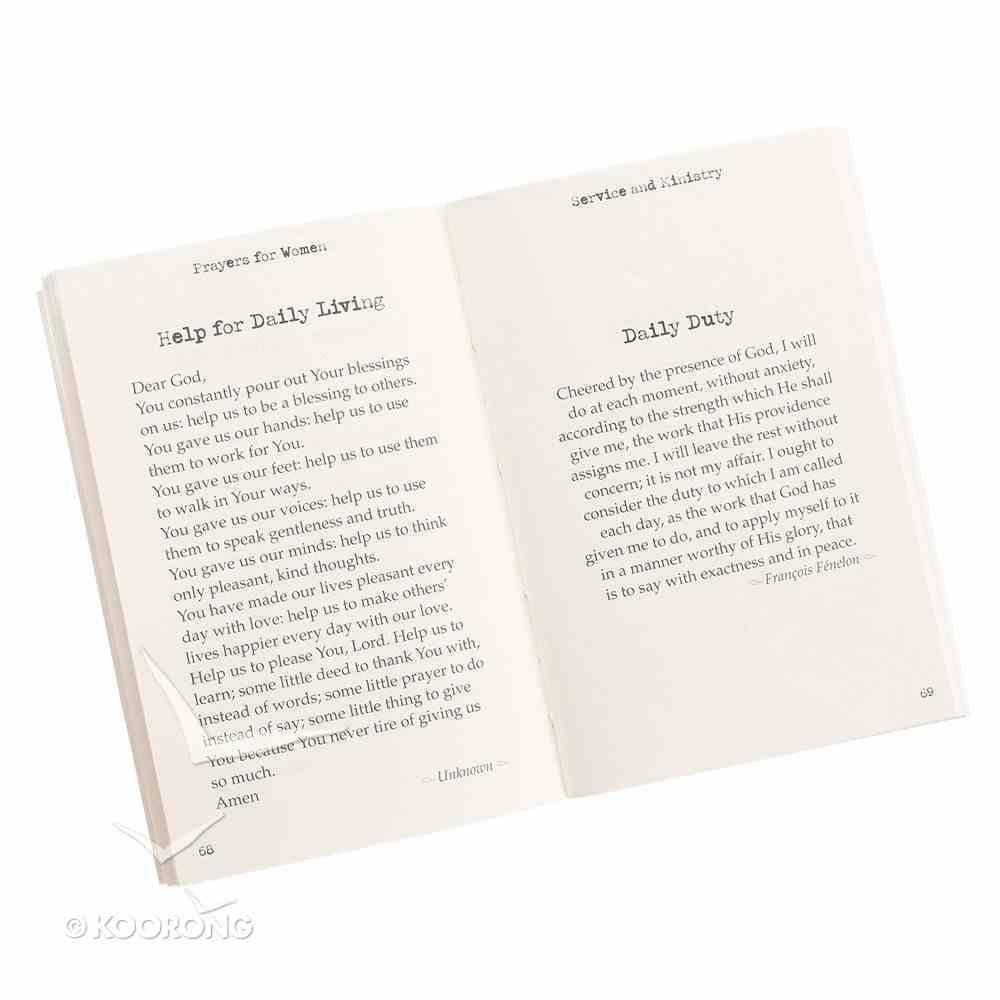 Pocket Book of Prayers: For Women Paperback