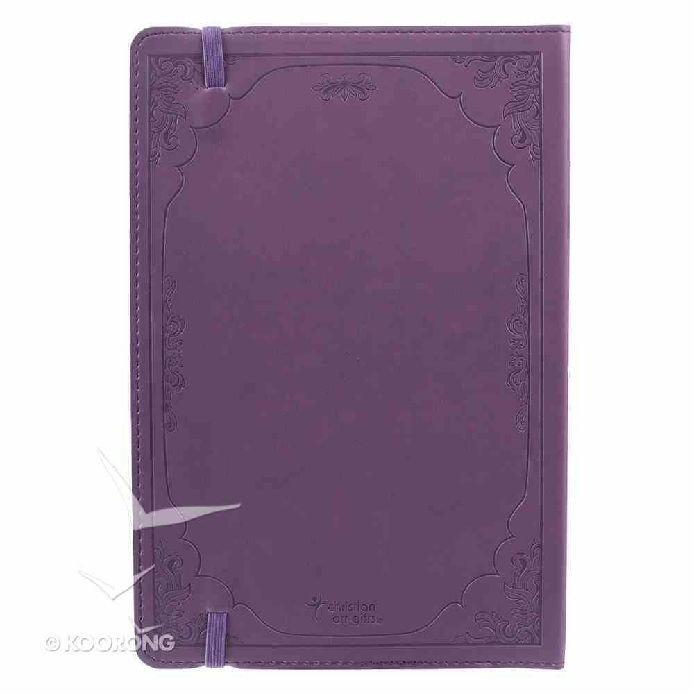 Journal: May These Words, Purple Flexcover With Elastic Closure Imitation Leather