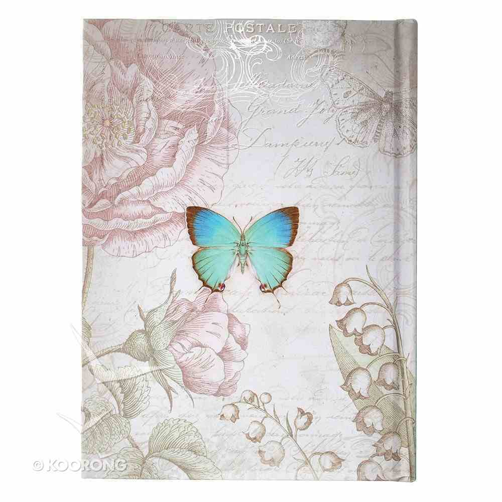 Die-Cut Journal: Grace (Blue/butterfly) Hardback