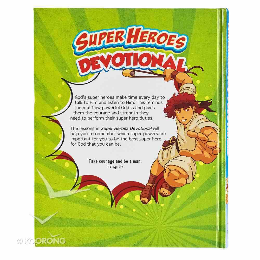 Super Heroes Devotional Hardback