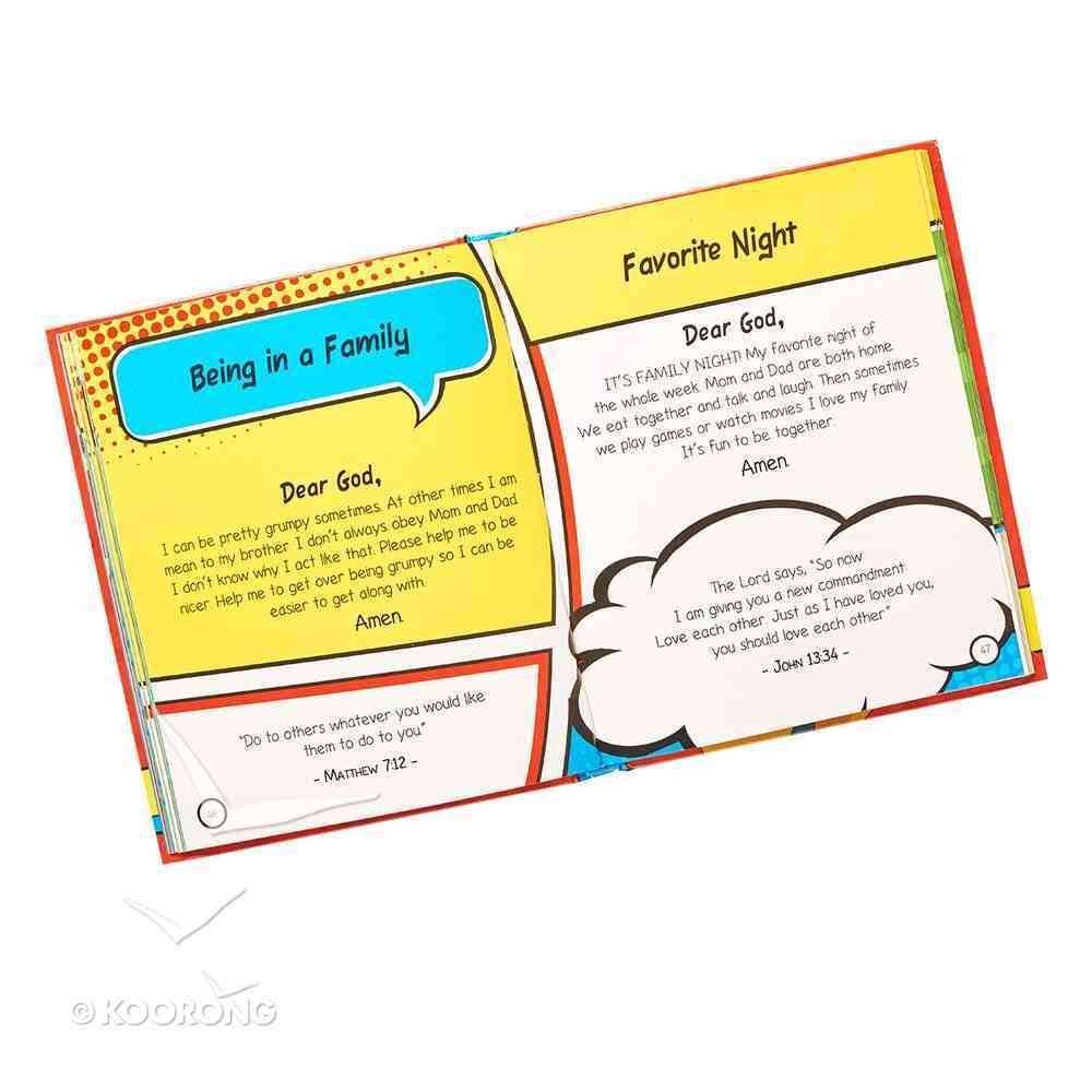 Super Heroes Prayer Book Hardback