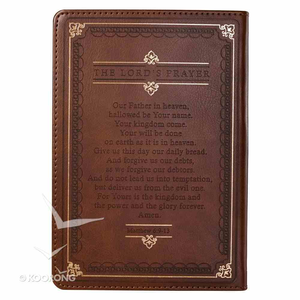 Prayer Journal With Scriptures Brown Luxleather Imitation Leather