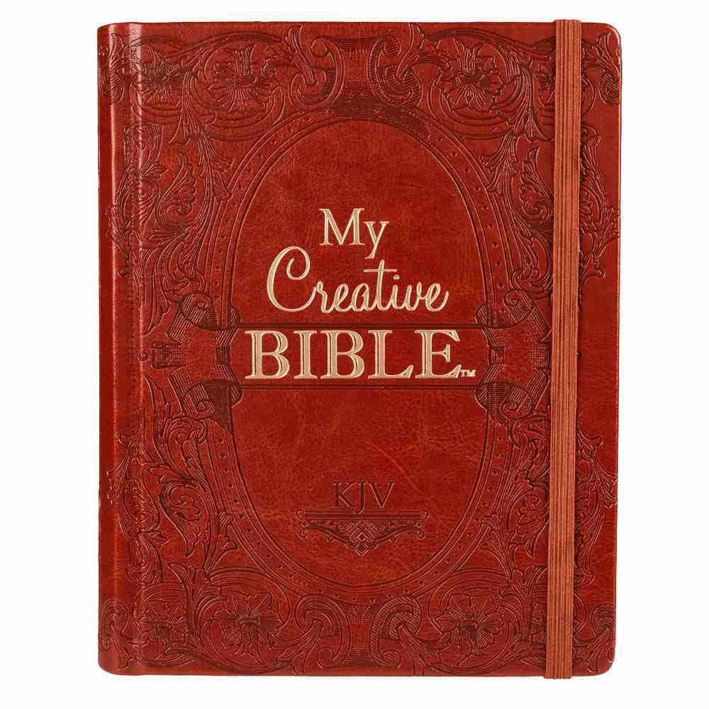 KJV My Creative Bible Brown (Black Letter Edition) Imitation Leather